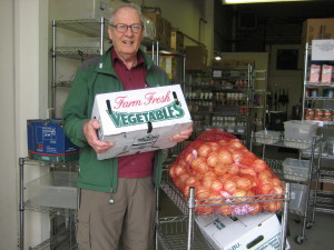 Don Munro picks up produce